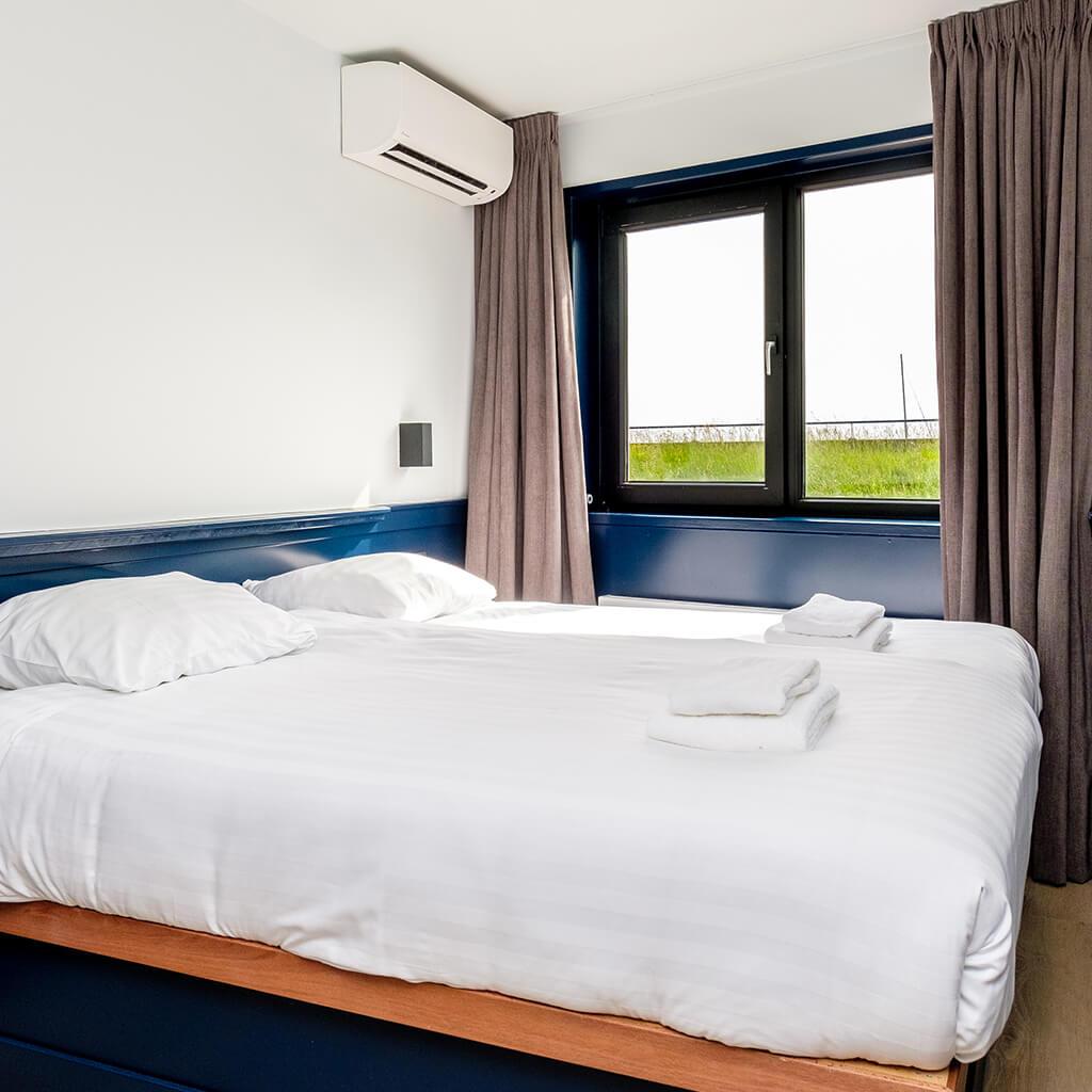 Hotel Smits double room zonder uitzicht op de haven