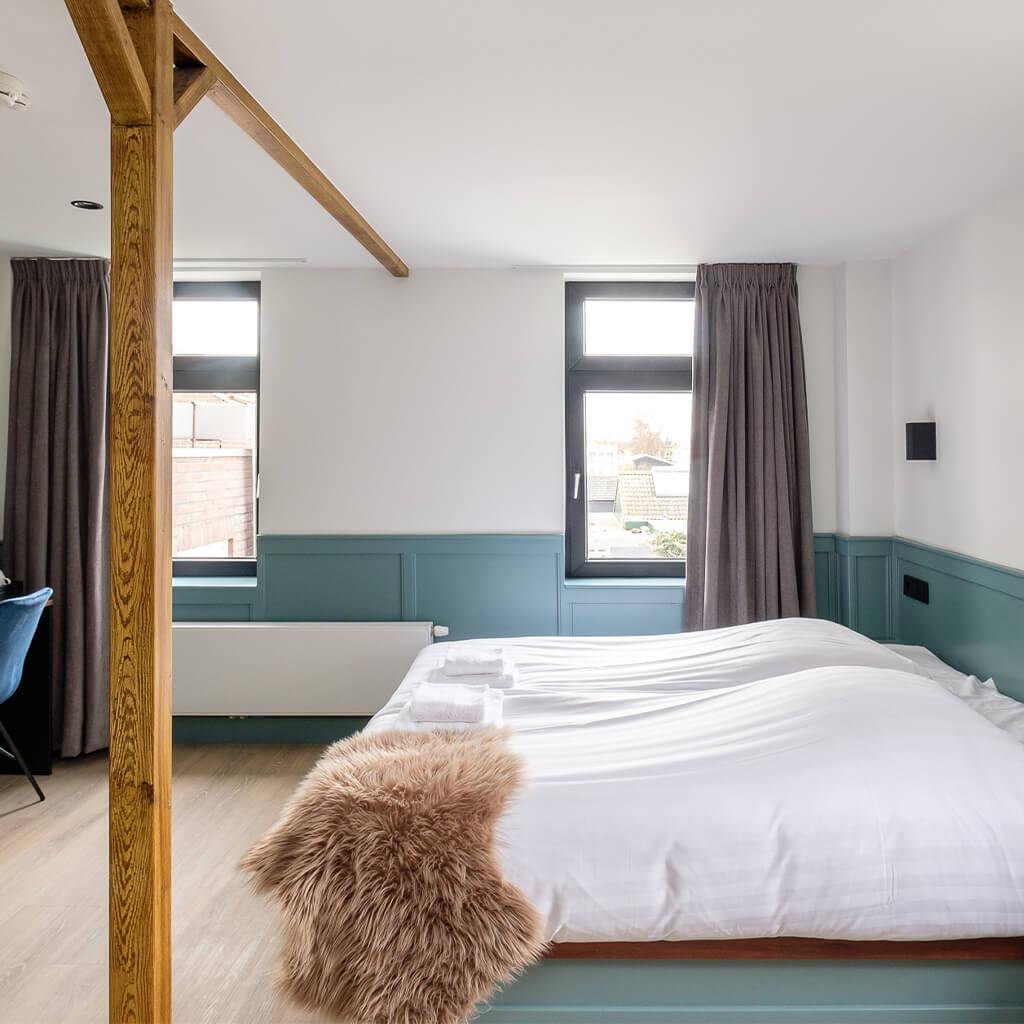 Hotel Smits double room luxe zonder uitzicht op de haven